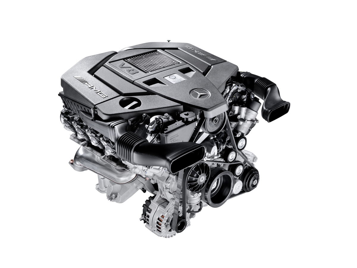 New 5.5-liter AMG V8 Engine | AMGmarket.com