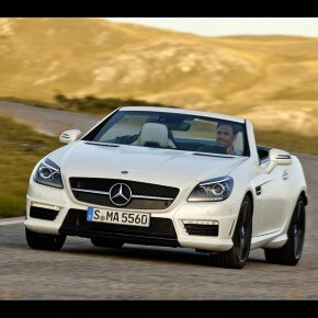 2012 SLK55 AMG Mercedes Video